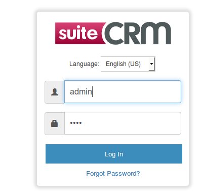 SuiteCRM Login
