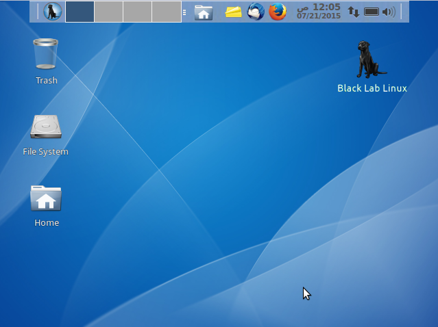 Black Lab Desktop