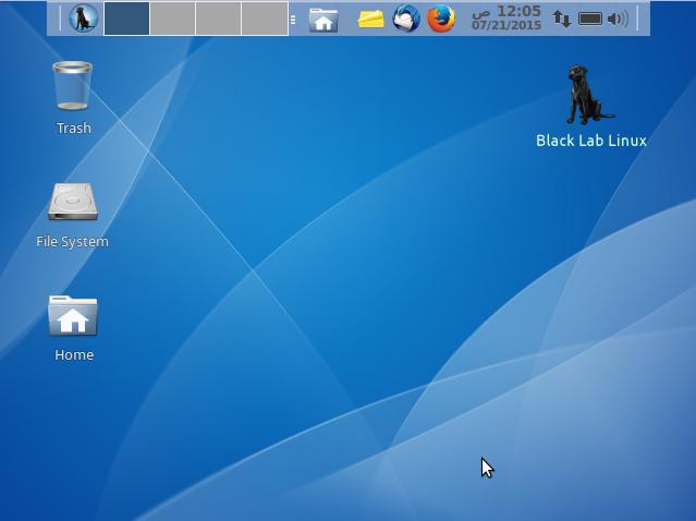Black Lab Desktop