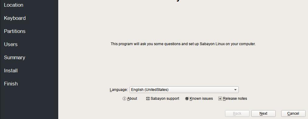 Sabayon Language
