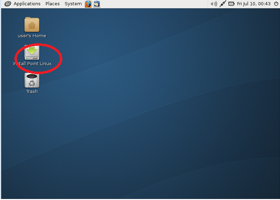 Point Linux1