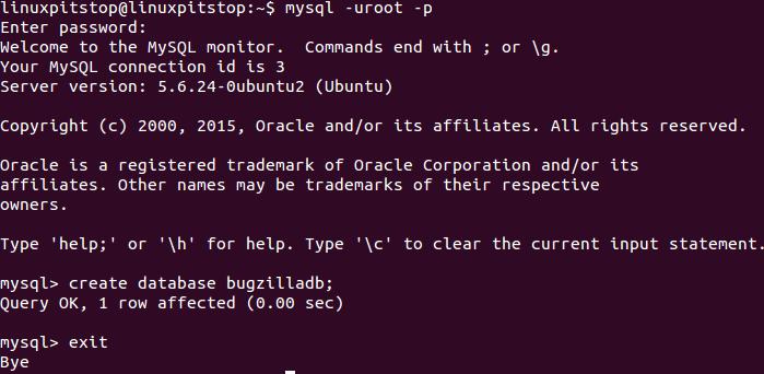 Bugzilla MYSQL