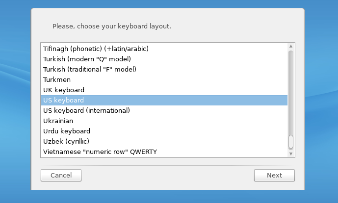 Install Rosa keyboard