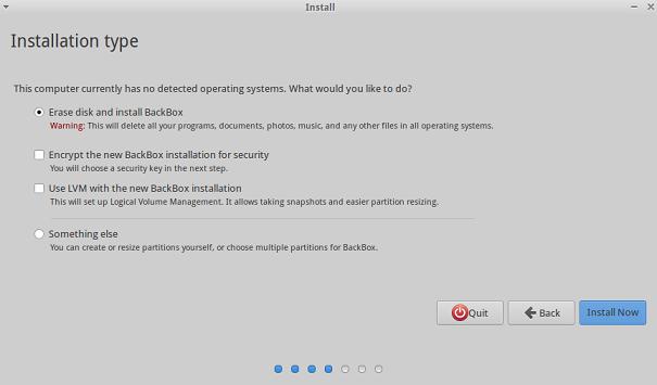 BackBox Linux 5