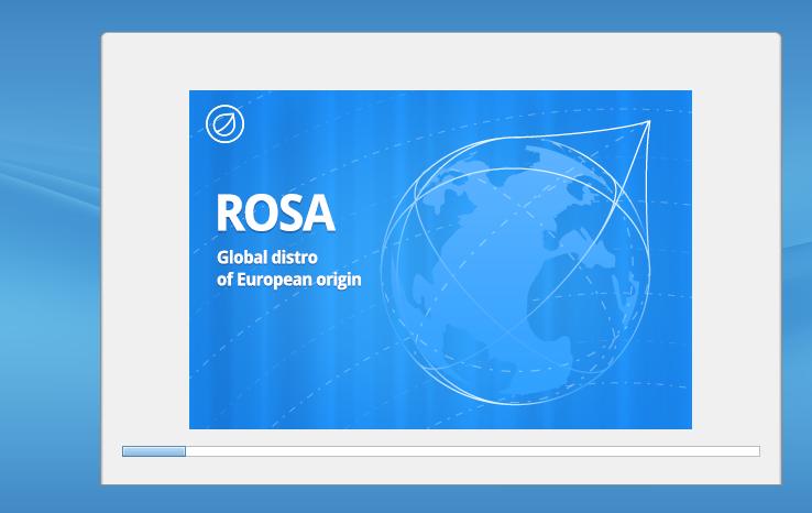 Install Rosa Progress