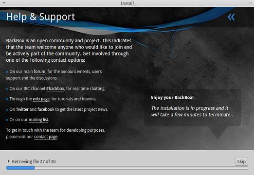Backbox Linux 9