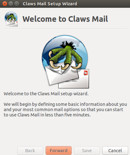 Claws mail main