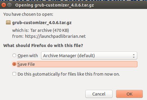 Download Grub Customizer