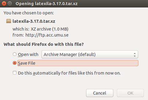 Download LaTeXila