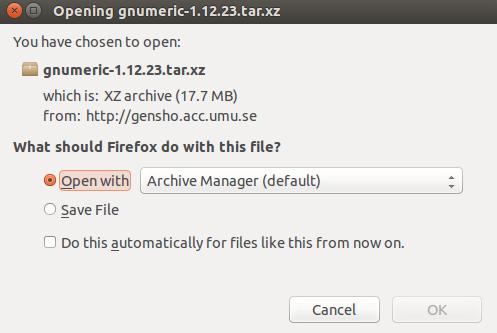 Download gnumeric