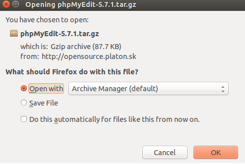 Download phpMyEdit
