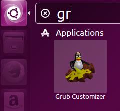 Launch Grub Customizer