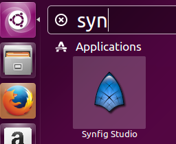 Launch Synfig