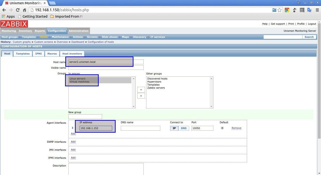 Unixmen Monitoring Server: Configuration of hosts - Google Chrome_006