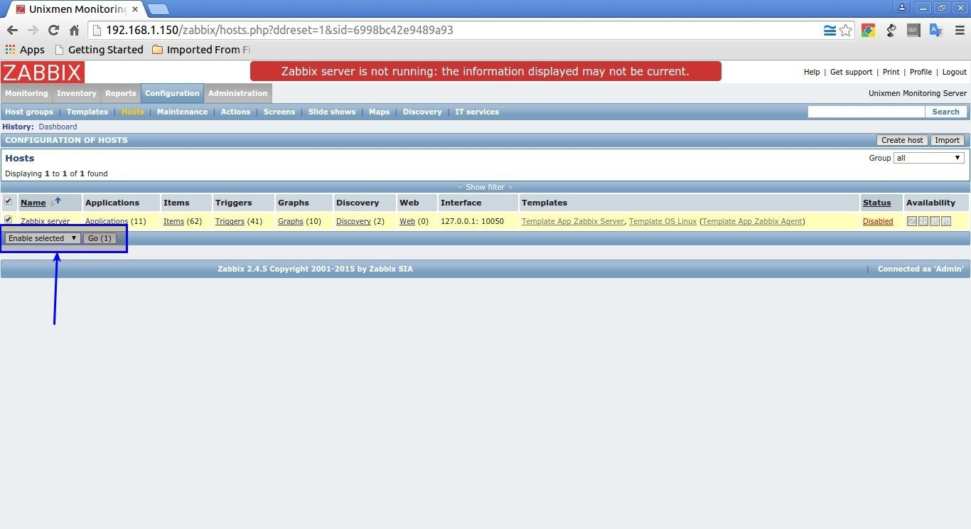 Unixmen Monitoring Server: Configuration of hosts - Google Chrome_010