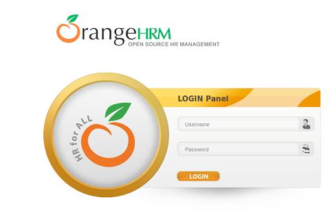 OrangHRM Login page