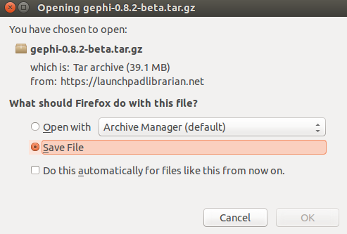 How to Install Gephi 0 8 2 Beta on Ubuntu Linux 15 04