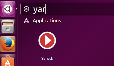 Launch yarock
