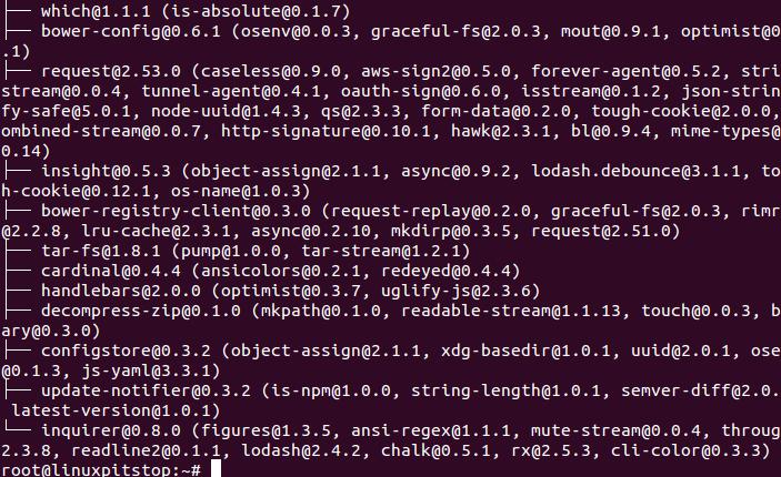 install bower ubuntu