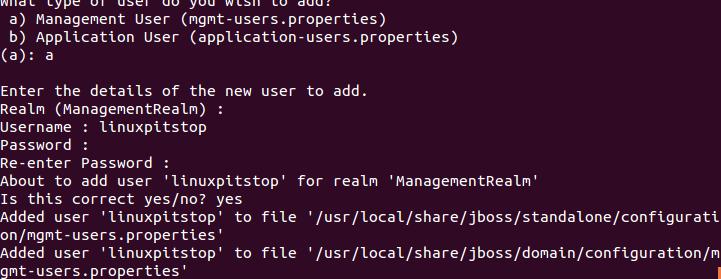 JBoss user login