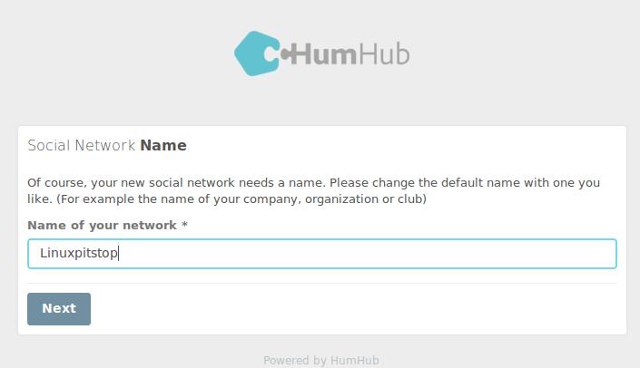 HumHub Social network