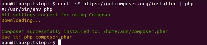 Composer Ubuntu