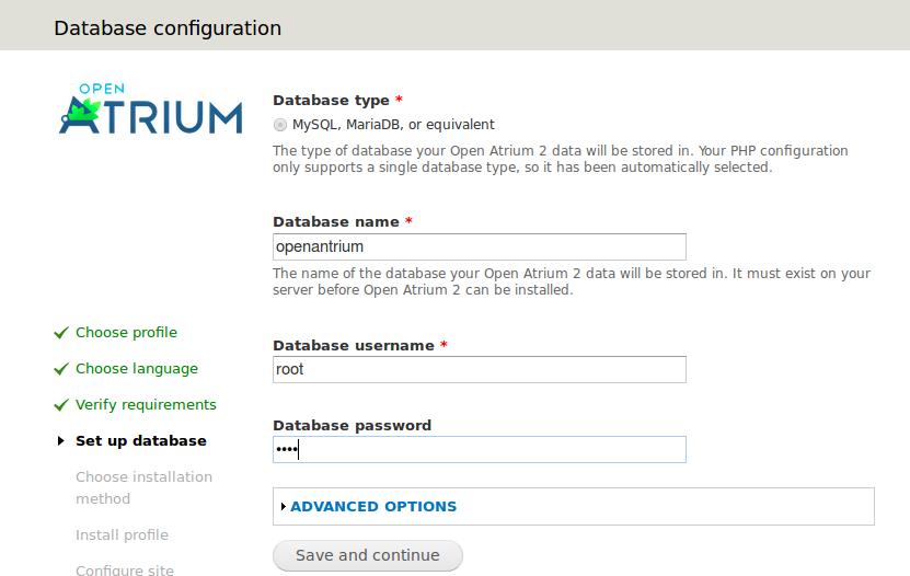 Atrium Database
