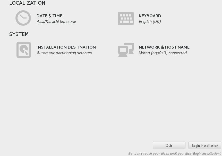 Scientific Linux Install