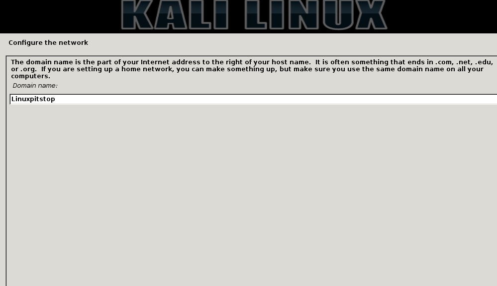 Kali Linux 2 Hostname