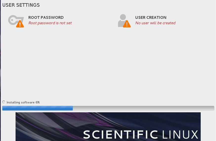 Scientific Linux Installation