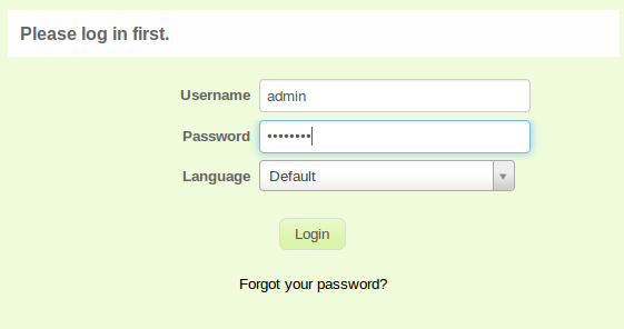 LimeSurvey Login