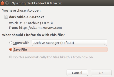 Download Darktable