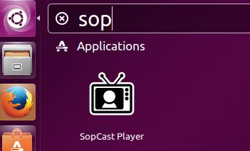 Launch SoPcast