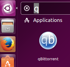 Launch qBittorrent