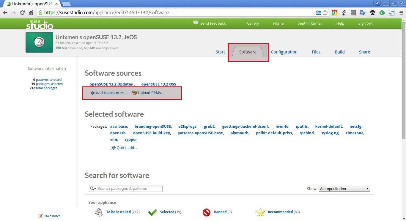 Unixmen's openSUSE 13.2, JeOS – SUSE Studio - Google Chrome_004