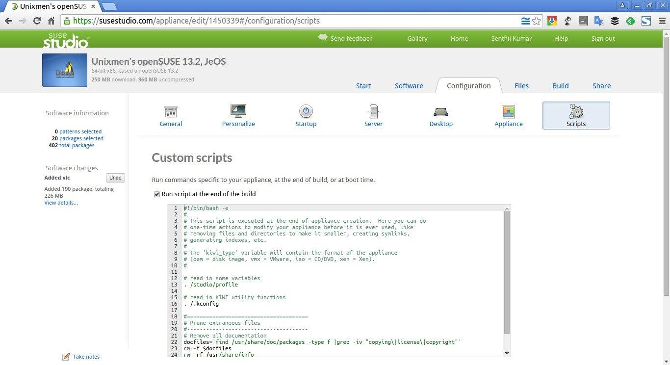 Unixmen's openSUSE 13.2, JeOS – SUSE Studio - Google Chrome_012