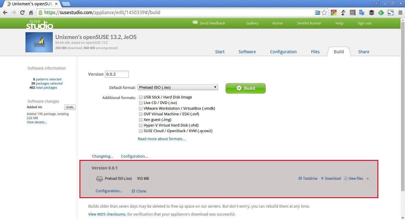 Unixmen's openSUSE 13.2, JeOS – SUSE Studio - Google Chrome_016