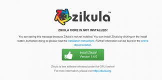 Zikula featured
