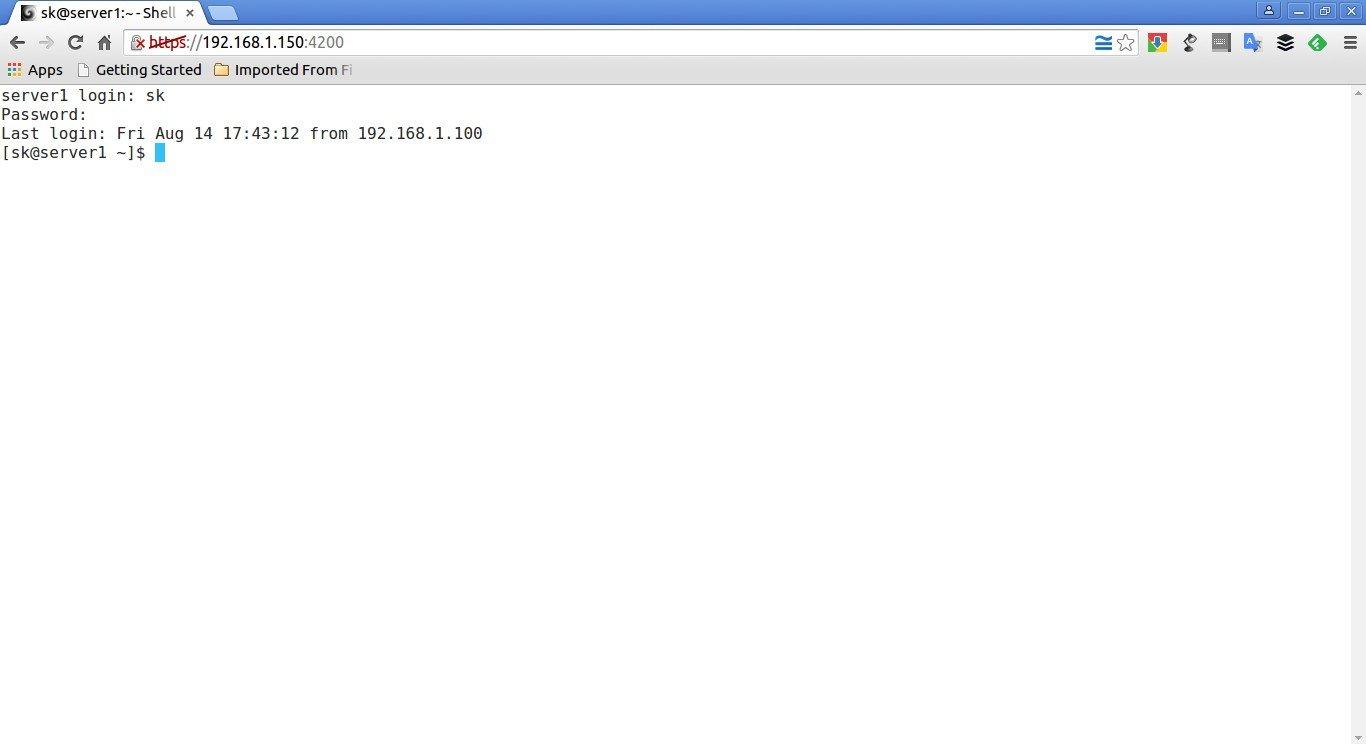 sk@server1:~ - Shell In A Box - Google Chrome_003