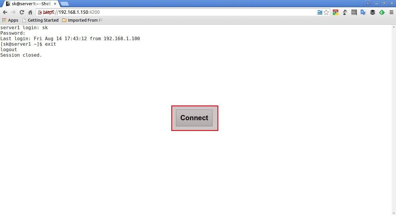 sk@server1:~ - Shell In A Box - Google Chrome_005