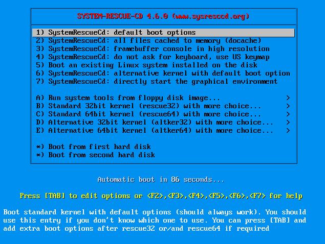 SystemRescue