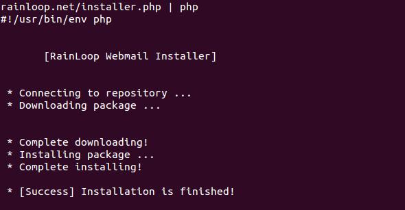 RainLoop Install