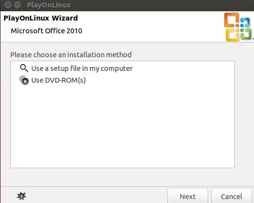 PlayOnLinux Installing