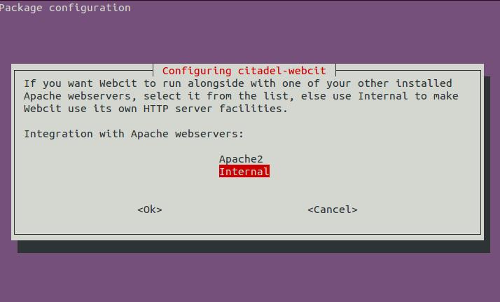 Citadel Webserver