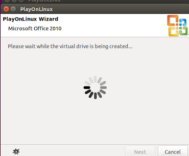PlayOnLinux Office Installation