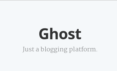 Ghost featured