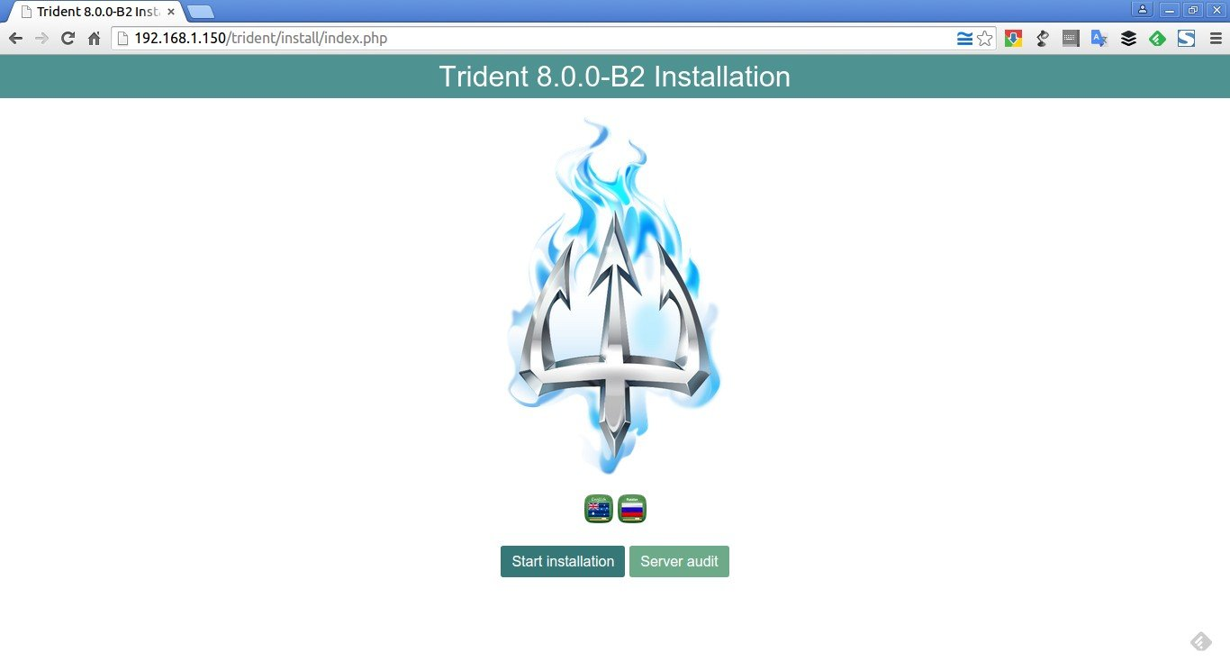 Trident 8.0.0-B2 Installation – Google Chrome_001