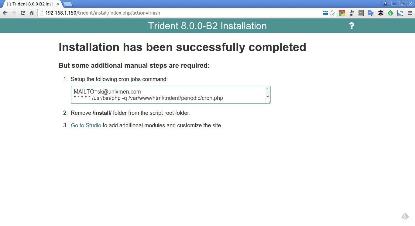 Trident 8.0.0-B2 Installation – Google Chrome_003