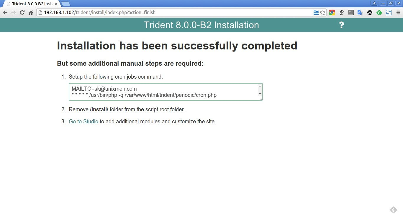 Trident 8.0.0-B2 Installation - Google Chrome_007
