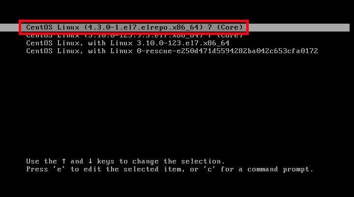 CentOS 7 -1 [Running] – Oracle VM VirtualBox_002